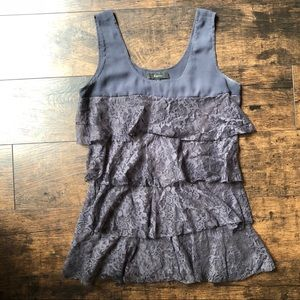 Tops - Express lace tier tank